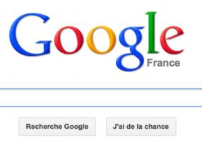 Nouvelle page accueil Google nouvel affichage resultats