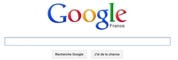 Nouvelle page accueil Google et nouvel affichage des résultats