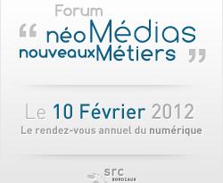 Compte rendu Forum Neo medias nouveaux metiers